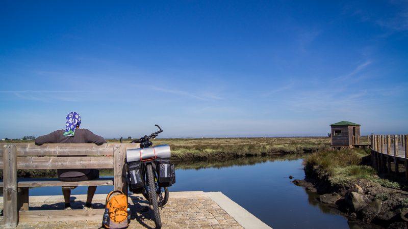 viajar de bicicleta em Portugal