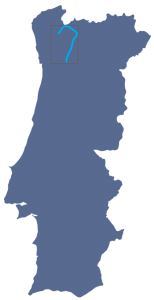 mapa do Portugal alto barroso