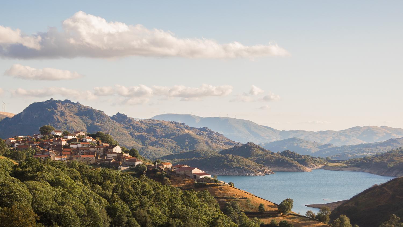 Reservoir in the Peneda-Gerês National Park